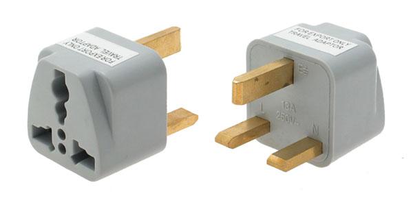 adapter uk socket to eu cord. Black Bedroom Furniture Sets. Home Design Ideas