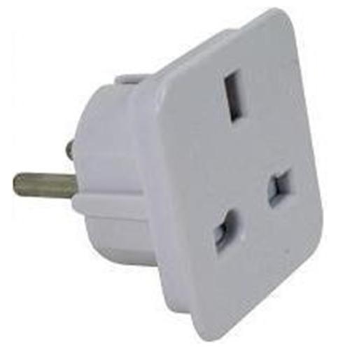 adapter uk cord to eu socket. Black Bedroom Furniture Sets. Home Design Ideas